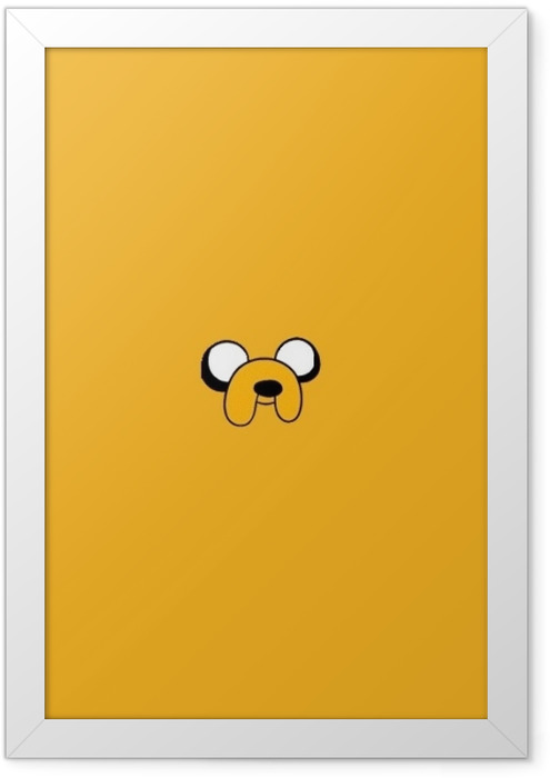 Plakat w ramie Pora na przygodę: Jake the Dog - Pora na przygodę