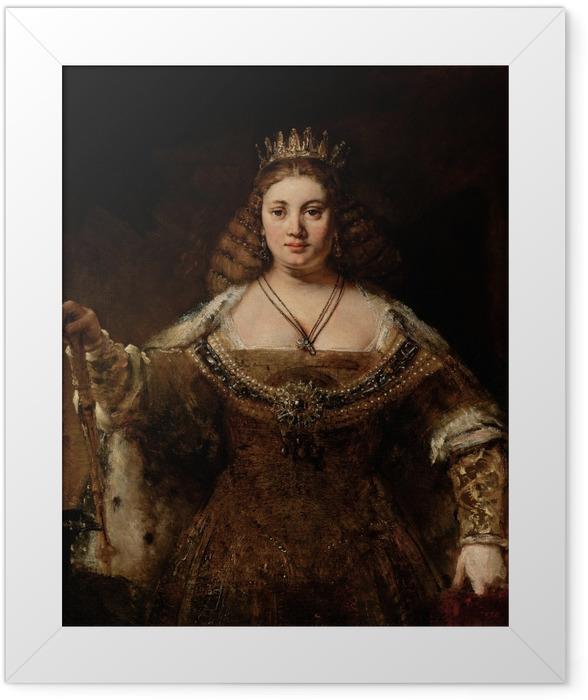Plakat w ramie Rembrandt - Junona - Reprodukcje
