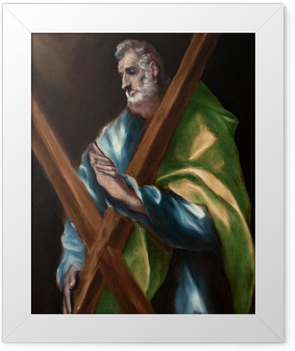 Poster en cadre Le Greco - Saint André - Reproductions