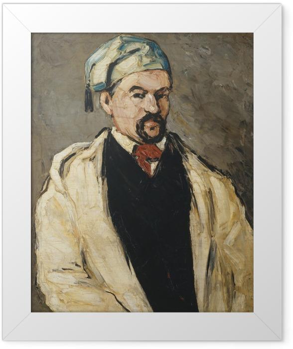 Poster en cadre Paul Cézanne - L'Homme au bonnet de coton - Reproductions