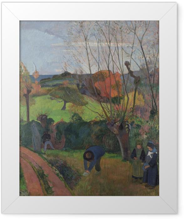 Plakat w ramie Paul Gauguin - Wierzby - Reprodukcje