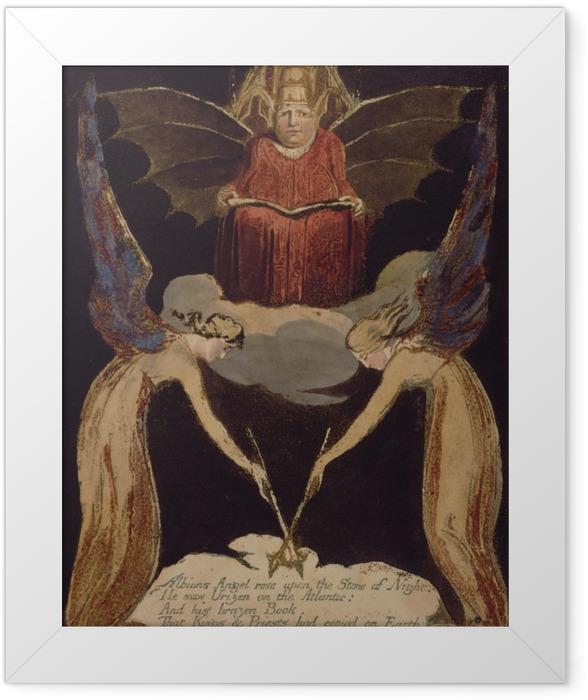 Gerahmtes Poster William Blake - Jerusalem - Reproduktion