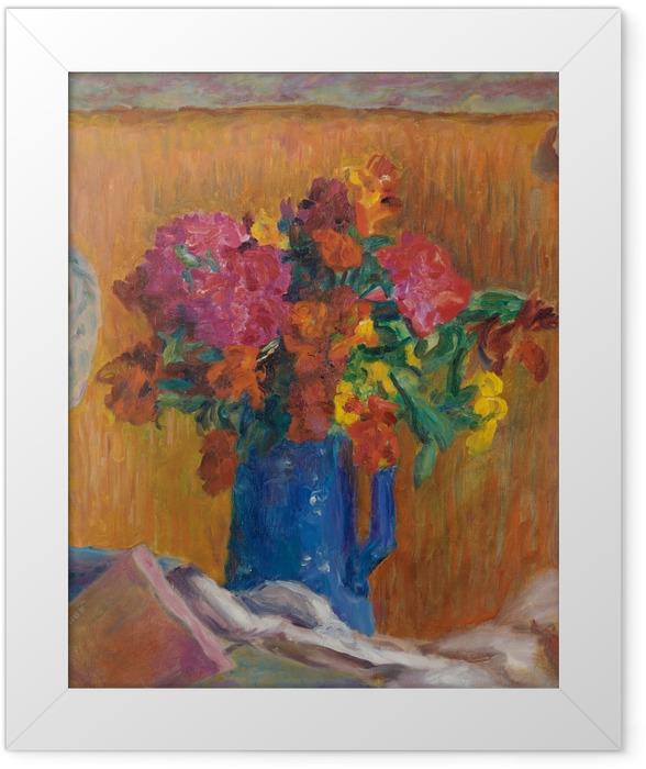Plakat w ramie Pierre Bonnard - Niebieski dzban - Reproductions