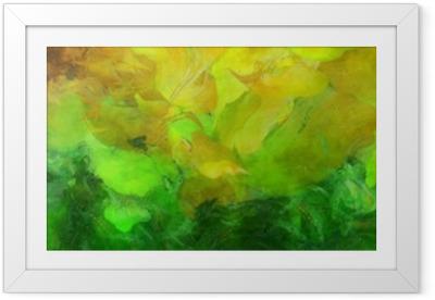 Poster en cadre Peinture abstraite colorée