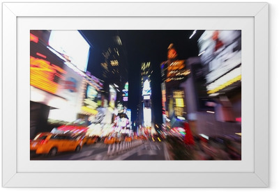 The times square at night Framed Poster