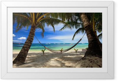 Perfect beach Framed Poster
