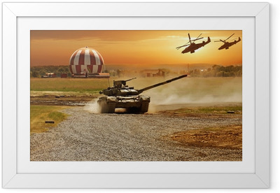 Ingelijste Poster Oorlog