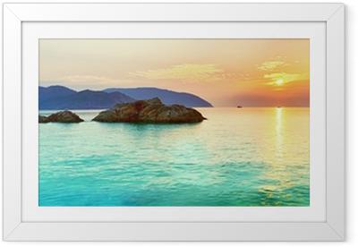 Ingelijste Poster Sunrise
