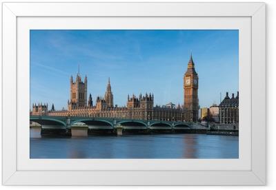 Big Ben Londres Angleterre Framed Poster