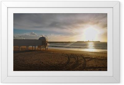 Poster en cadre La Caleta au coucher du soleil - Vacances