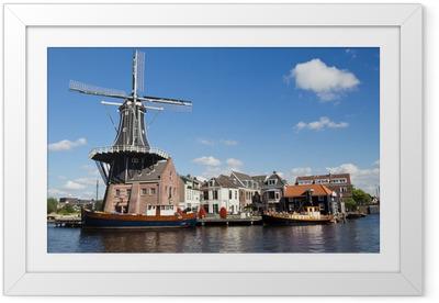 Ingelijste Poster Haarlem - Nederland