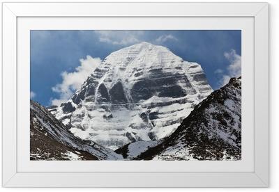 Ingelijste Poster Mount Kailash in Tibet
