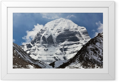 Poster en cadre Mont Kailash au Tibet