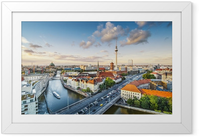 Poster en cadre Berlin, Allemagne Paysage après-midi