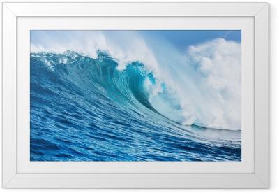 Póster Enmarcado Wave ocean