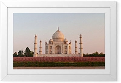 Póster com Moldura Taj Mahal, Agra