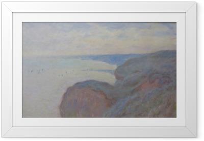 Póster Enmarcado Claude Monet - Steef Acantilados cerca de Dieppe