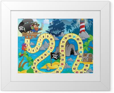 Board game theme image 5 Framed Poster