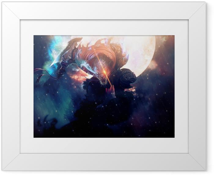 Poster en cadre Rengar - League of Legends - Thèmes