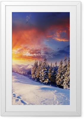 Ingelijste Poster Winter