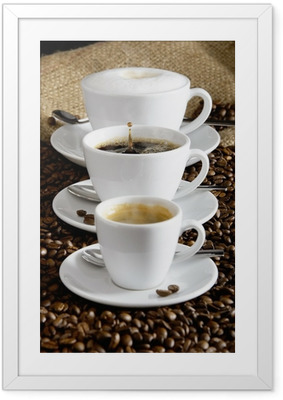 Ingelijste Poster Kaffee