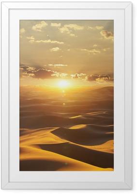 Desert Kehystetty juliste