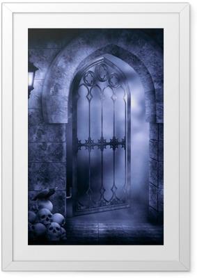 Poster en cadre Imagination gothique