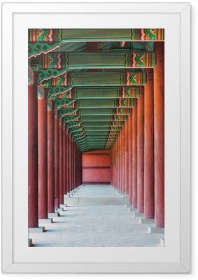 Plakat w ramie Changdeokgung palace