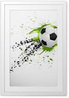 Poster in Cornice Calcio di design
