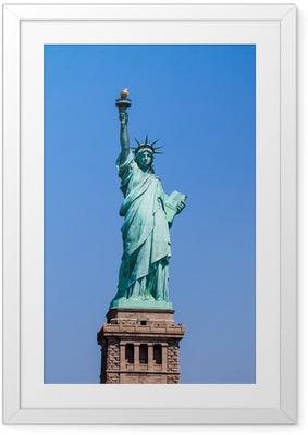 Çerçeveli Poster Özgürlük Heykeli