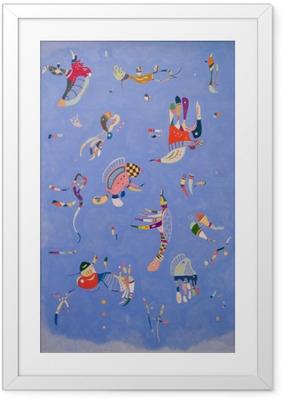 Bild i Ram Vasilij Kandinskij - Blå himmel