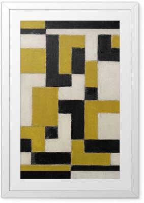 Theo van Doesburg - Composition Framed Poster