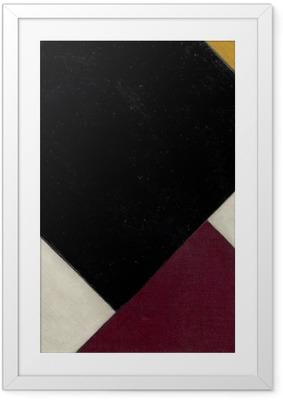 Poster i Ram Theo van Doesburg - Contra compositie XI