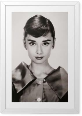 Poster en cadre Audrey Hepburn