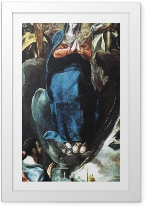 Plakat w ramie El Greco - Maria Immaculata - Reprodukcje