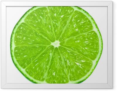 Ingelijste Poster Green Limes