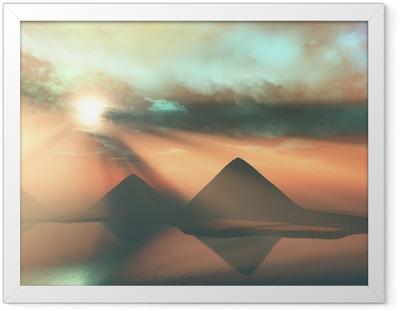 Poster in Cornice Lungo il Nilo