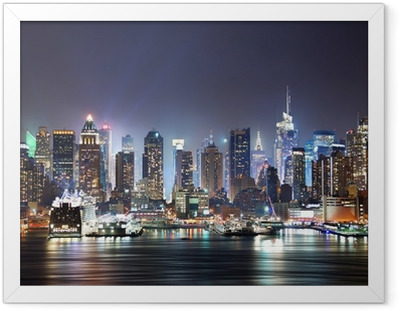 New York City Times Square Framed Poster