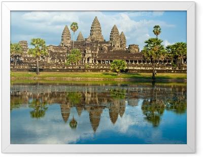 Poster en cadre Angkor Wat, Siem Reap, Cambodge. - Thèmes
