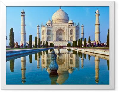 Taj Mahal in India Framed Poster