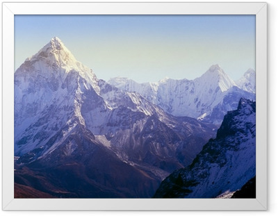 Ingelijste Poster Himalaya gebergte
