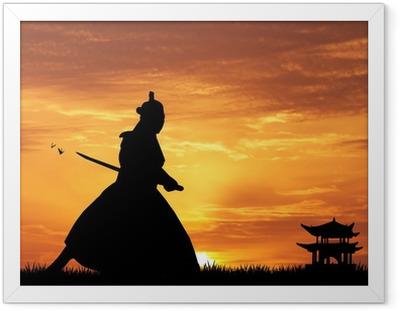 Poster en cadre Samourais - Styles