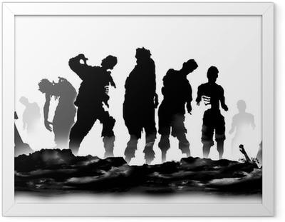 Zombier Indrammet plakat