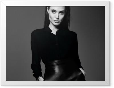 Poster en cadre Angelina Jolie