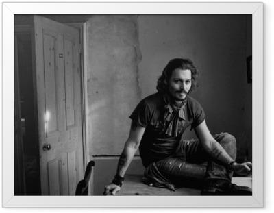 Ingelijste Poster Johnny Depp