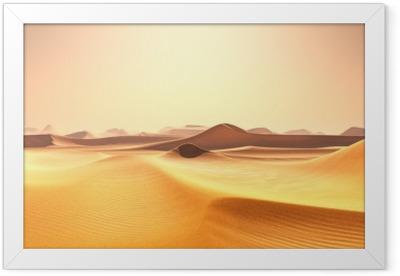 désert Framed Poster