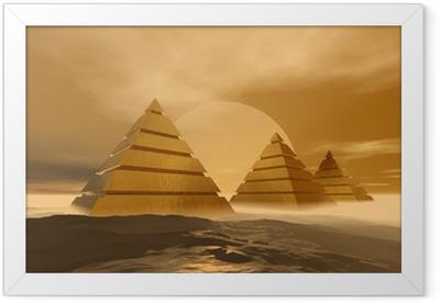 Poster in Cornice Piramidi