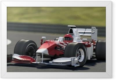 formula one race car Framed Poster
