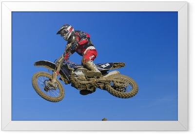 Ingelijste Poster Motorcross 101