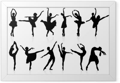 Plakat w ramie Taniec klasyczny